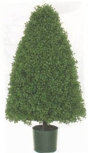 3 foot Artificial Boxwood Cone Topiary Bush Potted Indoor/Outdoor