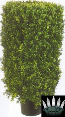 Artificial Topiary Bush Fake Boxwood Tree Faux Topiary Plant