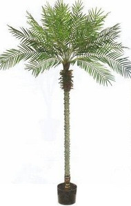 ARTIFICIAL 8' PHOENIX PALM TREE PLANT SILK BUSH POOL PATIO DECK ARRANGEMENT POTTED