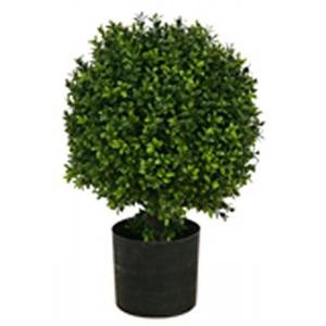 Outdoor Topiary Trees With Lights Outdoor artificial topiary trees potted one 20 inch outdoor artificial boxwood topiary ball bush potted workwithnaturefo