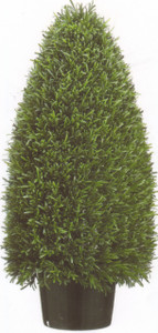 Artificial Rosemary Cone Topiary Bush 36 inch Tall One Plant