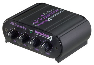 ART - HeadAmp 4 Eight Output Headphone Amp