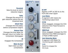 Rupert Neve Design - 543 500 Series Mono Compressor Limiter