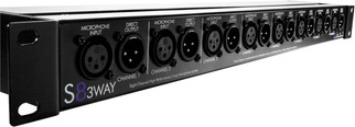 ART - S8 3 - Way Eight Channel Balanced 3-Way Mic Splitter