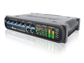 Motu 4 PRE - FireWire/USB2 6 x 8 compact audio interface with four mic preamps and mixing