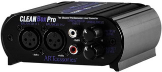 ART - CleanBox Pro Dual Channel Level Converter