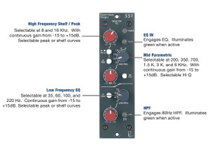 Rupert Neve Design - 551 500 Series Inductor  E.Q
