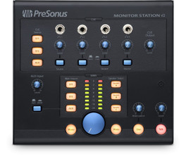 Presonus: Monitor Station V2: The desktop speaker-management solution.