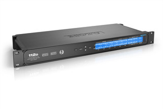 MOTU 112D ThunderboltTM/USB2/AVB Ethernet audio interface with 112 channels of digital I/O and MADI