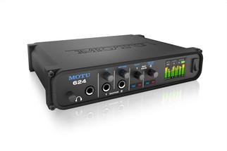 MOTU 624 - ThunderboltTM/USB3/AVB Ethernet audio interface with DSP and mixing
