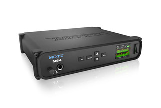 MOTU LP32 USB2/AVB Ethernet ADAT Lightpipe Audio Interface with DSP, wireless control and audio networking