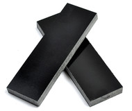 Black Linen Micarta Handle Scales x 2