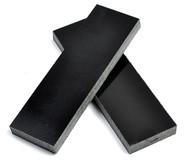 Charcoal Linen Micarta Handle Scales x 2