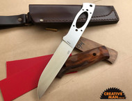 EnZo Trapper Knife Kit 115, Flat Grind, ELMAX steel