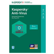 Kaspersky KL1171ABCFS-1721UZD Anti-Virus 2017 - 3 PCs (Key Card)