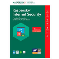 Kaspersky KL1941ABCFS-1721UZD Internet Security 2017- 3 PCs (Key Card)