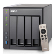 Qnap TS-451+-8G-US 4-Bay Next Gen Personal Cloud NAS Intel 2.0GHz Quad-Core CPU with Media Transcoding