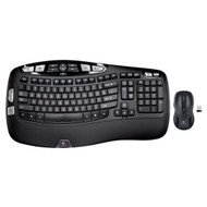 Logitech 920-002555 Wireless Wave Combo MK550 with Keyboard and Laser Mouse