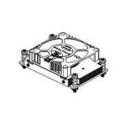 Dynatron R13 1U Blower Copper Skived Fin Intel Socket 2011 Narrow ILM