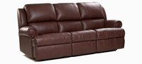 Jaymar 39801 Reclining Sofa is available in high quality leather, fabric, or microfiber.