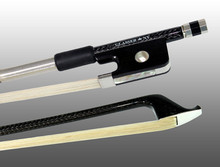 Glasser Braided Carbon Fiber Cello Bow, Round Stick