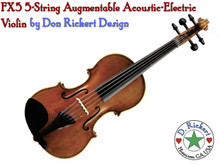 Rickert AE5 5-String Acoustic-Electric Violin