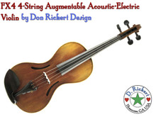 Rickert AE4 4-String Acoustic-Electric Violin