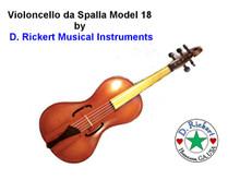 Rickert Violoncello da Spalla Model 18