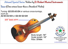Attuned Special Series: Tenor (Octave Violin)