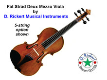 Fat Strad Deux 5-String Mezzo Viola (5-String Violin or Fiddle)