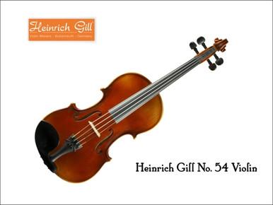 Heinrich Gill Violin No. 54
