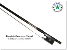 Bazzini Carbon-Graphite Violin or Fiddle Bow; 4/4 size