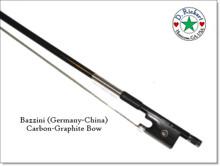 Bazzini Carbon-Graphite Violin or Fiddle Bow; 4/4 size