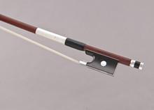 Georg Werner Master Violin Bow: Pernambuco, Round Shaft, Silver Winding, Germany