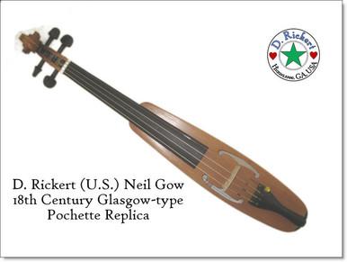 Neil Gow Pochette (aka Dancing Master's Kit, Travel fiddle)