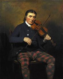 Pre-Modern 1780 to 1820 Fiddle Setup