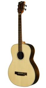 Tenor Melodic Guitar based on Kala Tenor Guitar. Tenor guitar set up and tuned for the lower G-D-A-E octave mandolin (aka Irish) tuning