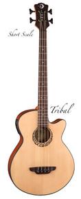 Small Bass Melodic Guitar by D. Rickert Musical Instruments (Luna Short Scale Trial Bass)