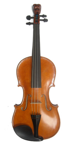 Lion of Ireland Fiddlers Convention 2015 Special Edition Fiddle by D. Rickert Musical Instruments 1