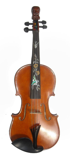 Rickert Philosopher King Special Edition Fiddle by D. Rickert Musical Instruments (front)