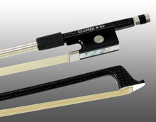 Glasser Braided Carbon Fiber Bow for Violin, Round Stick 1