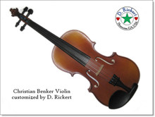Christian Benker Violin customized by D. Rickert