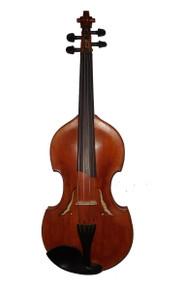 Rickert Octave Violin (Viola d'Amore shaped) front