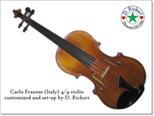 Italian (Cremona) Fiddlers Convention 2015 Special Edition Fiddle (front)