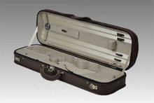 Negri Milano Violin Case, leather (inside in beige)