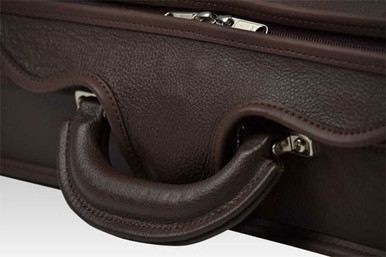 Negri Milano Violin Case, leather