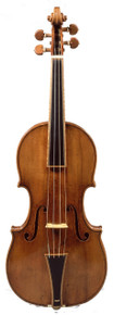 1693 Gould Stradivarius Baroque Violin Replica (front)