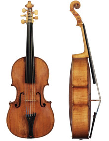 Violoncello da Spalla by D. Rickert (full-size 18-inch body)