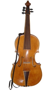 Violoncello da Spalla by Donald Rickert with strap front