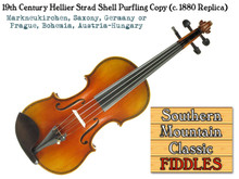 Hellier Strad Copy: Southern Mountain Classic Fiddles Collection